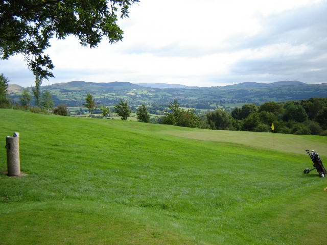 The view from the tenth tee